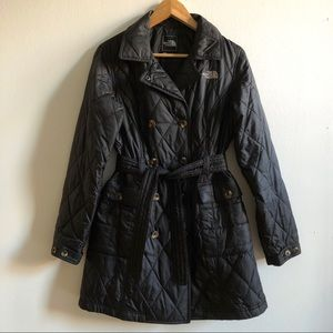 [LIKE-NEW] The North Face W's belted trench parka